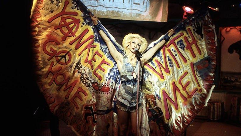 Hedwig på scen