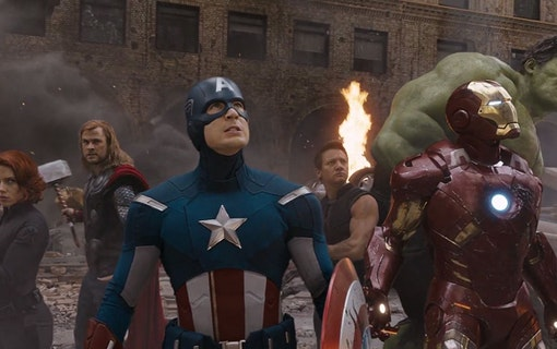 Avengers-stjärnorna enas för att stötta Joe Biden