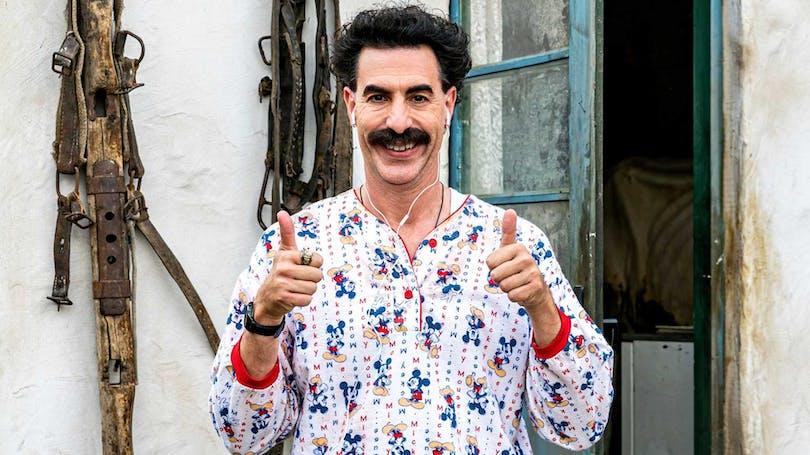 Sacha Baron Cohen som Borat.