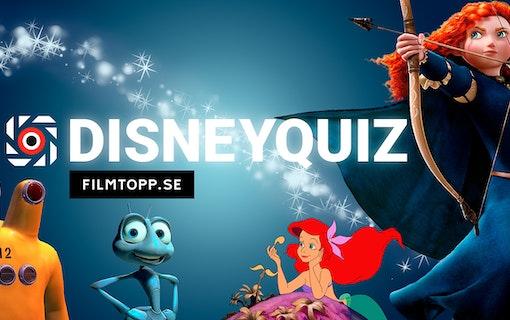 Filmtopps kluriga Disney-quiz
