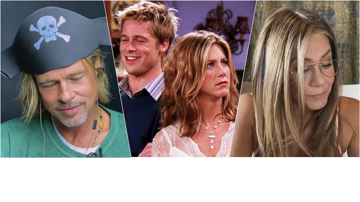 Brad Pitt och Jennifer Aniston