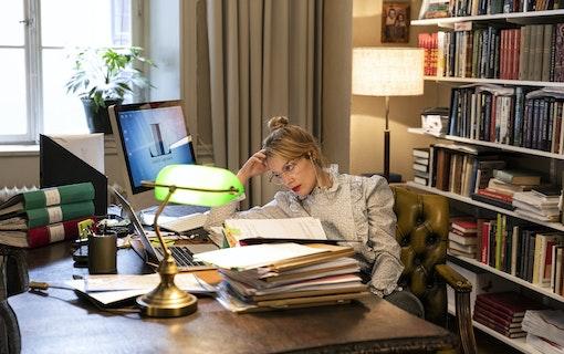 Ida Engvoll jobbar på kontoret.