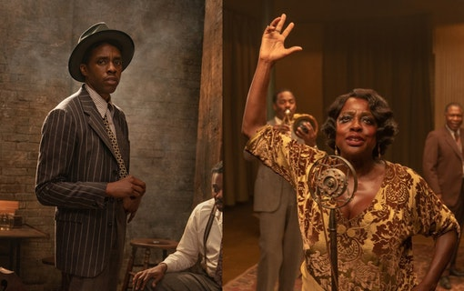 Chadwick Boseman i Ma Rainey's Black Bottom.