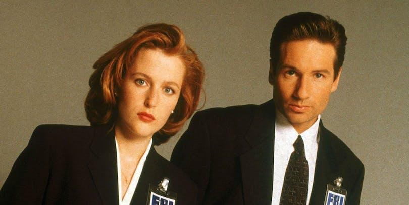 Dana och Fox i X-Files