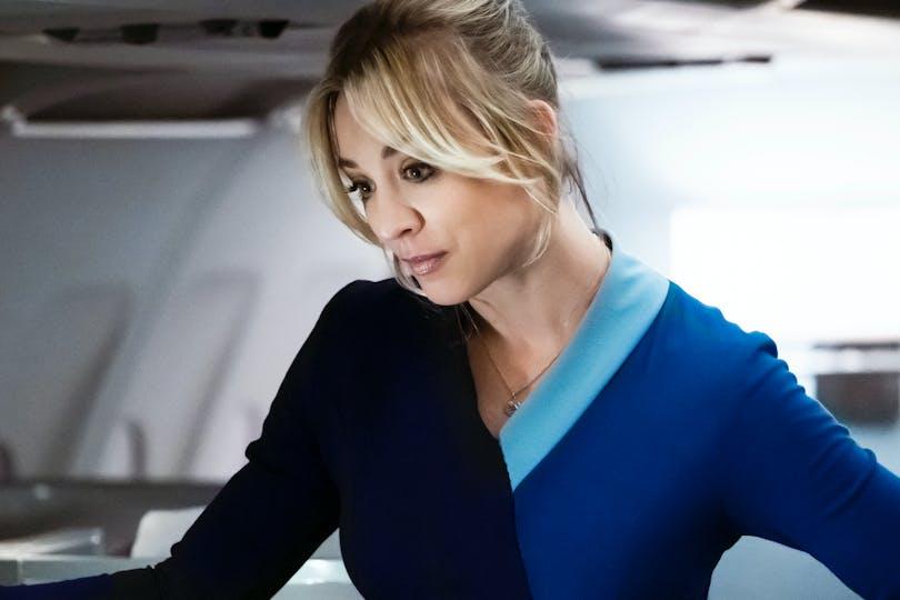 """Kaley Cuoco i """"The Flight Attendant""""."""