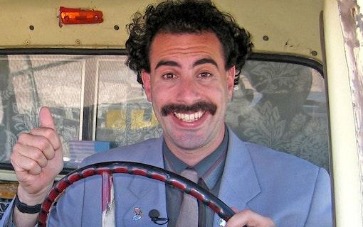 """Borat 2 stäms för """"falsk intervju"""""""