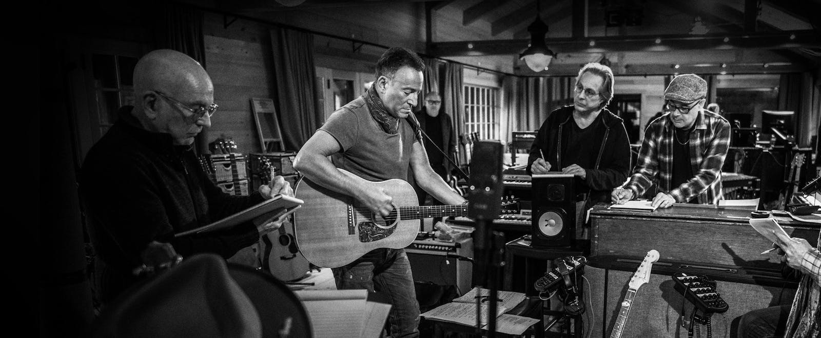 Bruce Springsteen's Letter to You. Foto: Apple