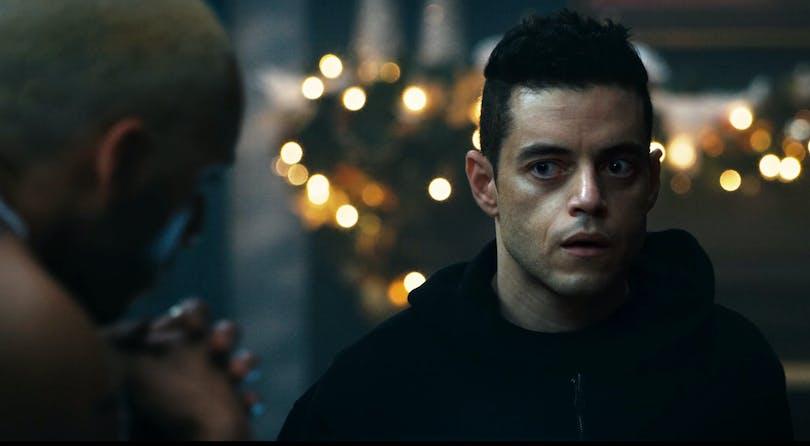 """Nyligen Oscarsbelönade Rami Malek i säsong 4 av """"Mr. Robot""""."""