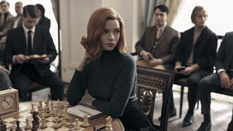 Anya Taylor-Joy i The Queens Gambit