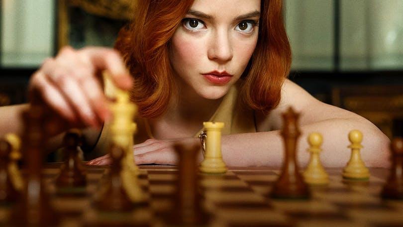 The Queens gambit en av nya serier på Netflix.
