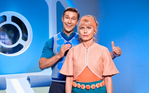 Familjen Robsson. Foto: TV4