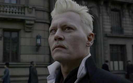 Johnny Depp som Gellert Grindelwald.