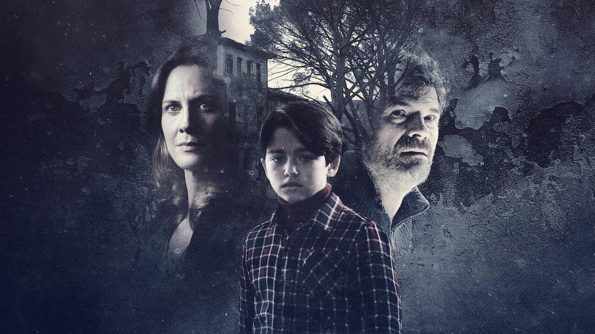 Familjen i Rösterna. Foto: Netflix.