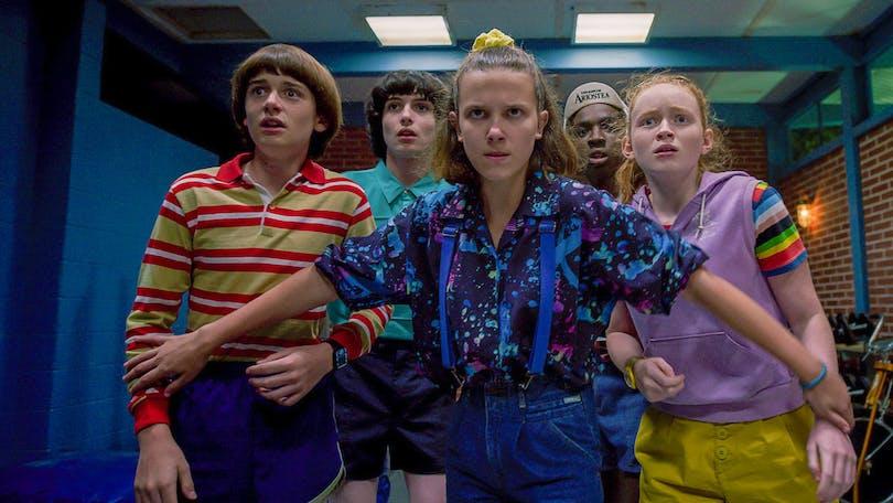 """Den som vill streama Netflix gratis kan se succéserien """"Stranger Things""""."""