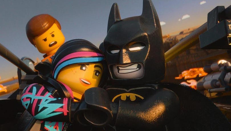 Lego-filmen finns på Netflix.