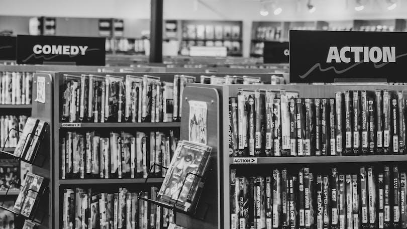 Videobutikerna är nu endast ett minne blott. Foto: American Express Essentials.