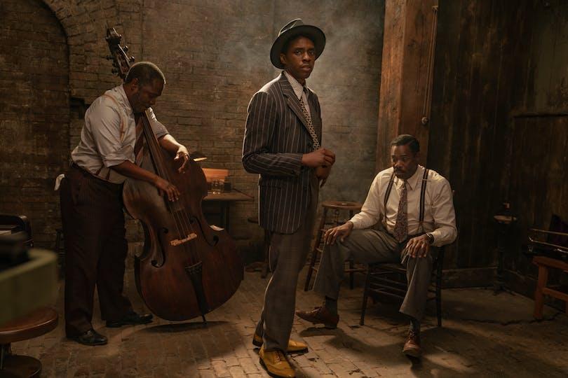 Chadwick Boseman i rollen som Levee