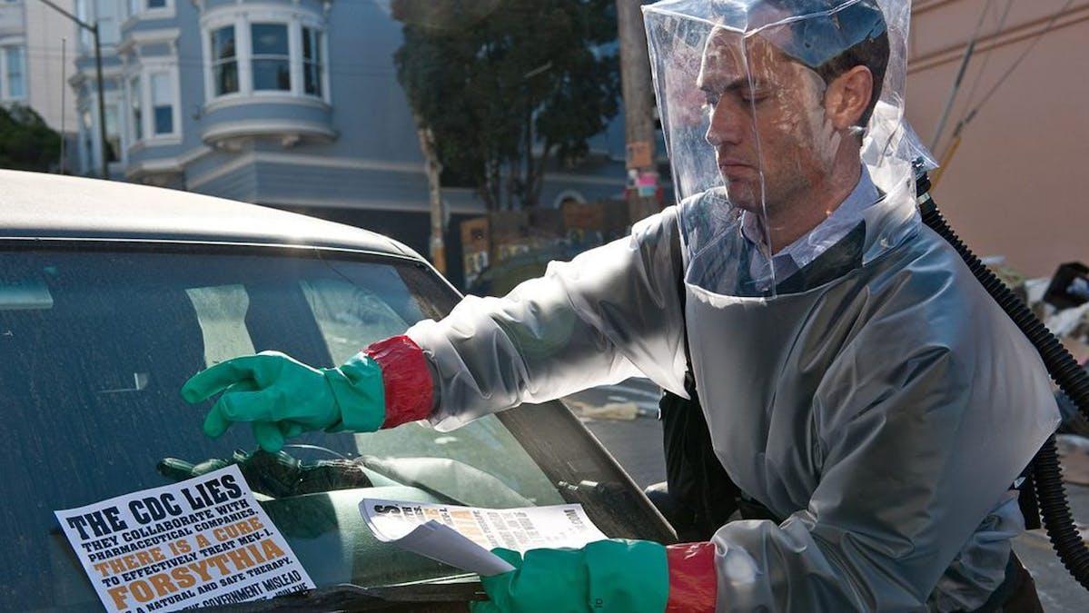 Virusfilmen Contagion får uppföljare