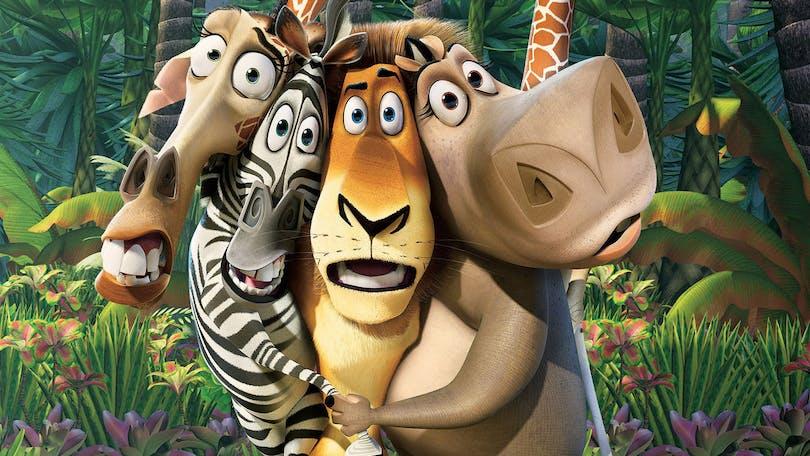Madagaskar på Netflix