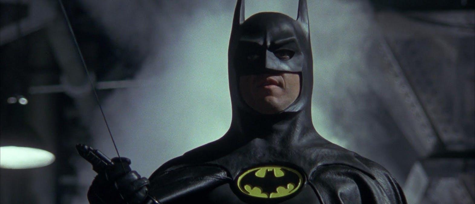 Tre versioner av Batman i The Flash