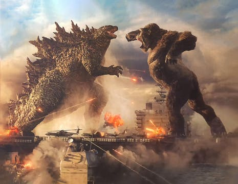 Trailern till Godzilla vs. Kong har landat