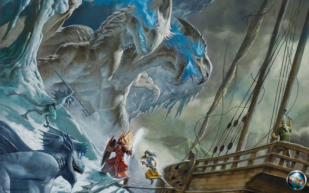Brädspelet Dungeons and Dragons blir TV-serie
