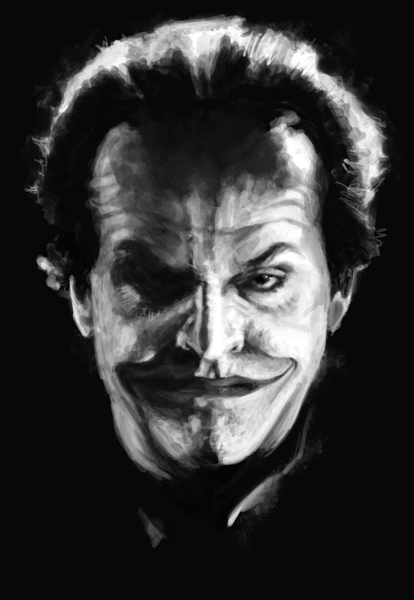 Så här ser mitt leende ut när jag ser ett internet-troll knacka sina fingrar blodiga när de skriver elaka kommentarer om mina artiklar. Foto: Warner Bros. Pictures.