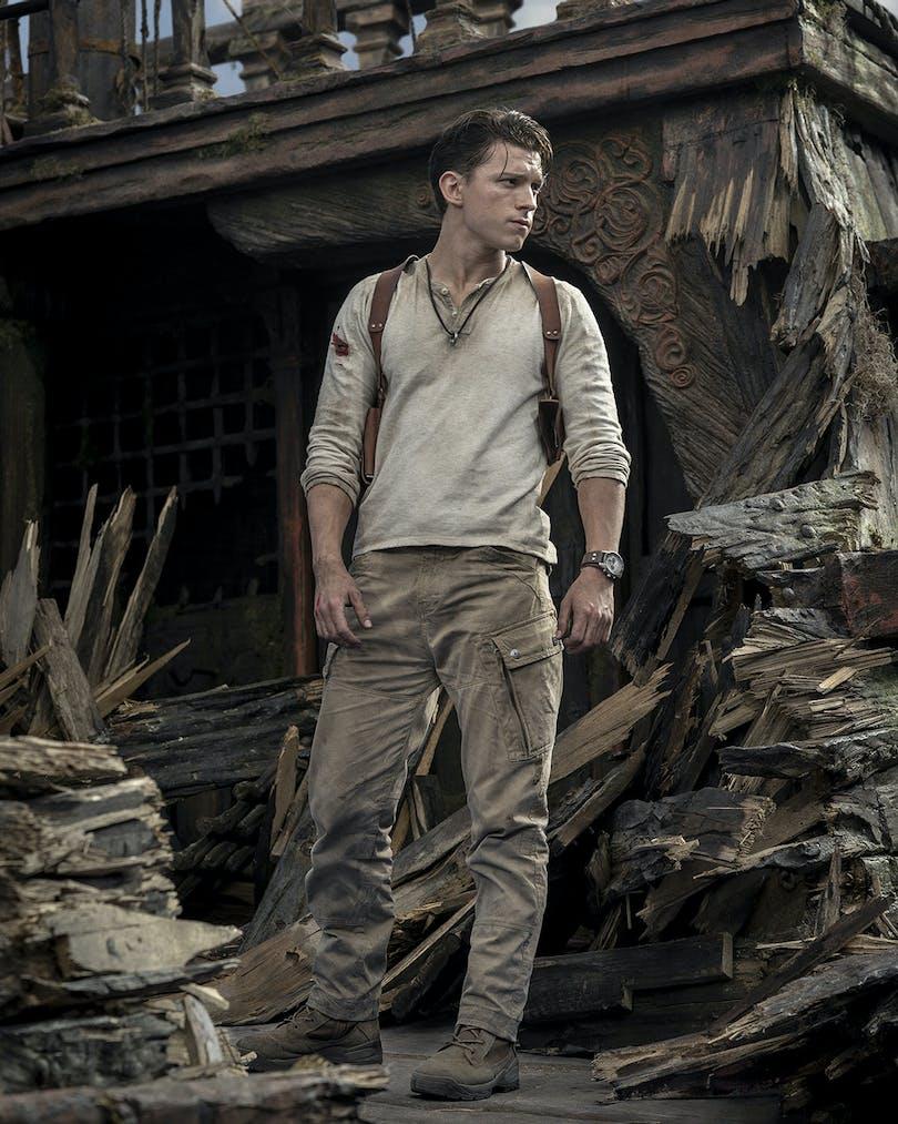 "Tom Holland i ""Uncharted""."