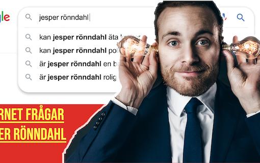 Jesper Rönndahl om framtiden