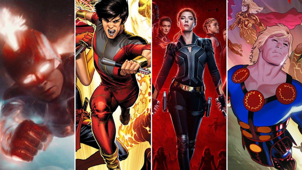 Kommande Marvel-filmer 2021