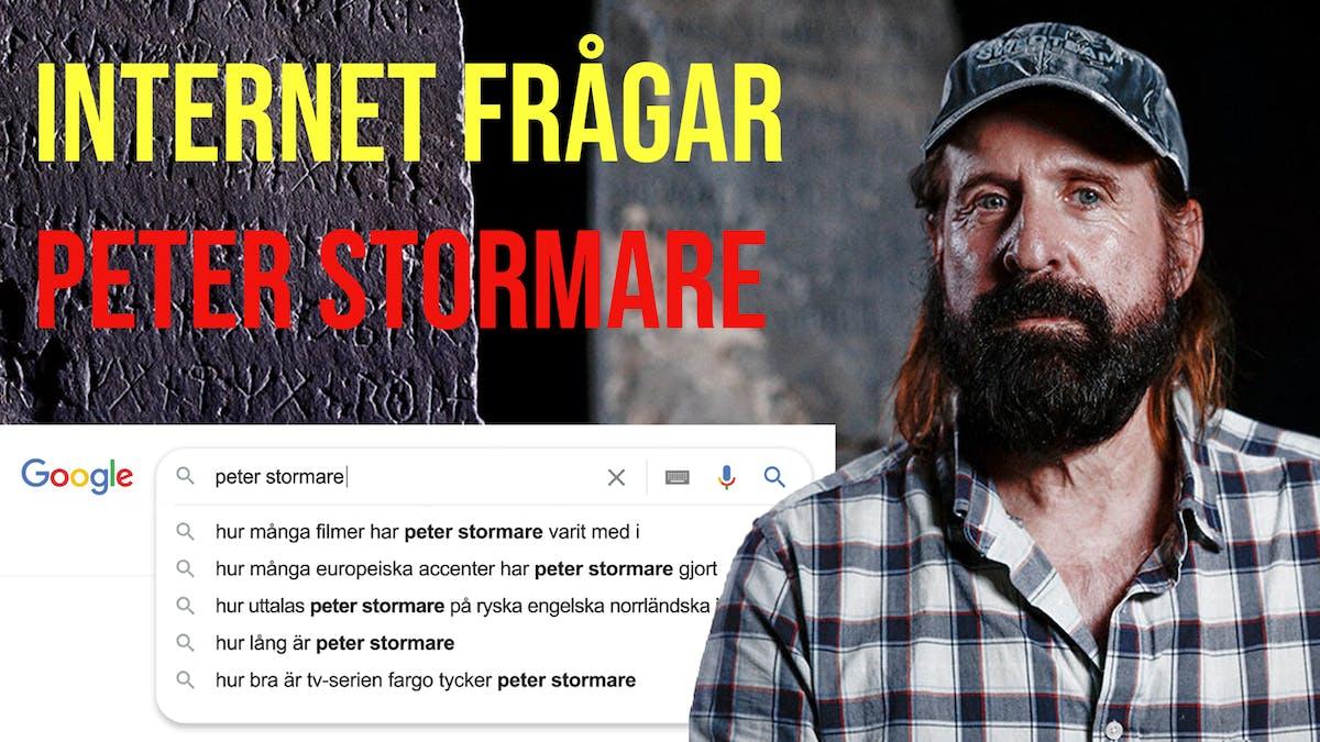 Internet frågar Peter Stormare