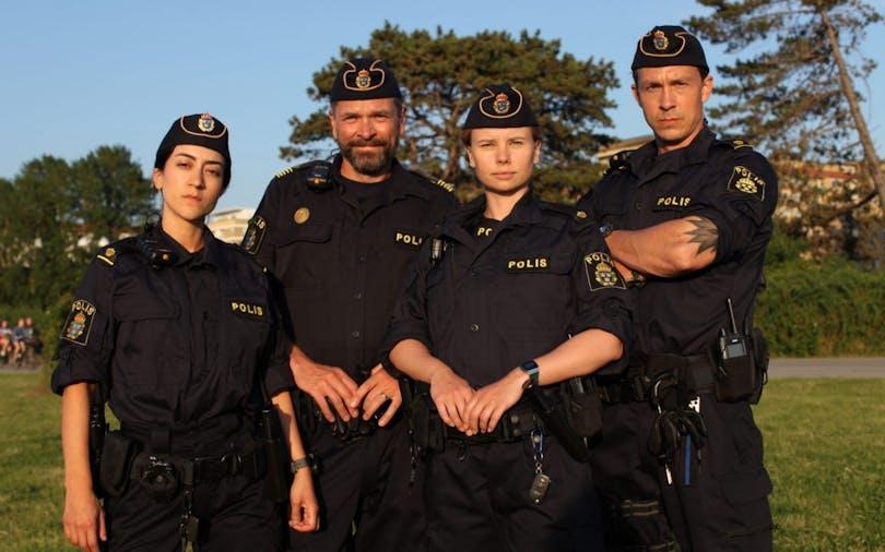 Tunna blå linjen på SVT är en av de bästa serierna 2021
