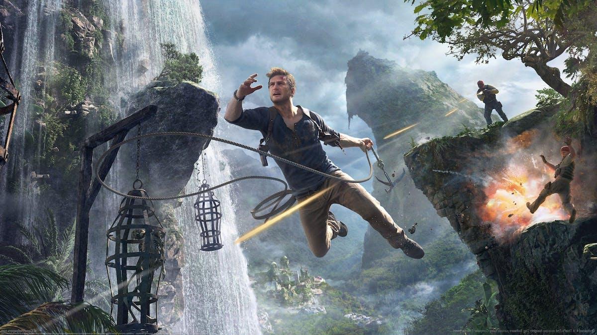 Nya bilder till Uncharted filmen