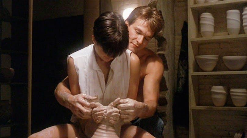 En av filmhistoriens mest romantiska scener. Foto: Paramount Pictures.