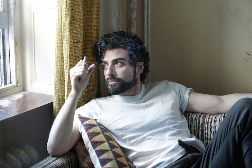 "Oscar Isaac i Bröderna Coens ""Inside Llewyn Davies"" (2013). Foto:"