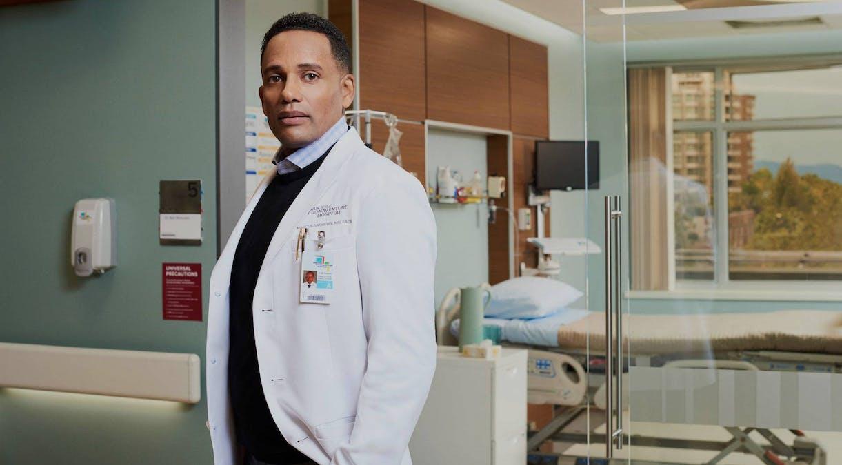 Hill Harper som Dr. Marcus Andrews i The Good Doctor. Foto: Viaplay