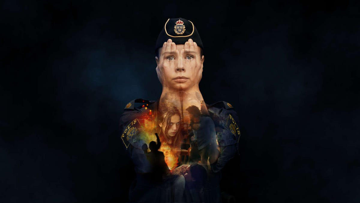 Amanda Jansson i Tunna blå linjen