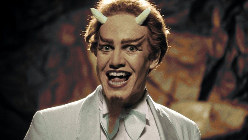 Danny Elfman som Satan i Forbidden Zone