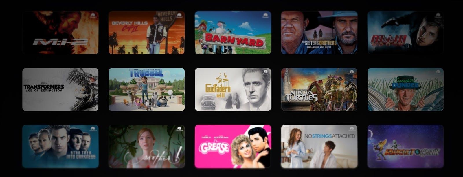 Paramount+ filmer – 11 tips att streama