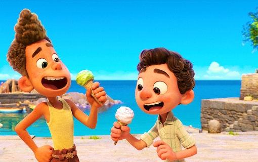 Se den helt nya trailern till Pixar-filmen Luca!