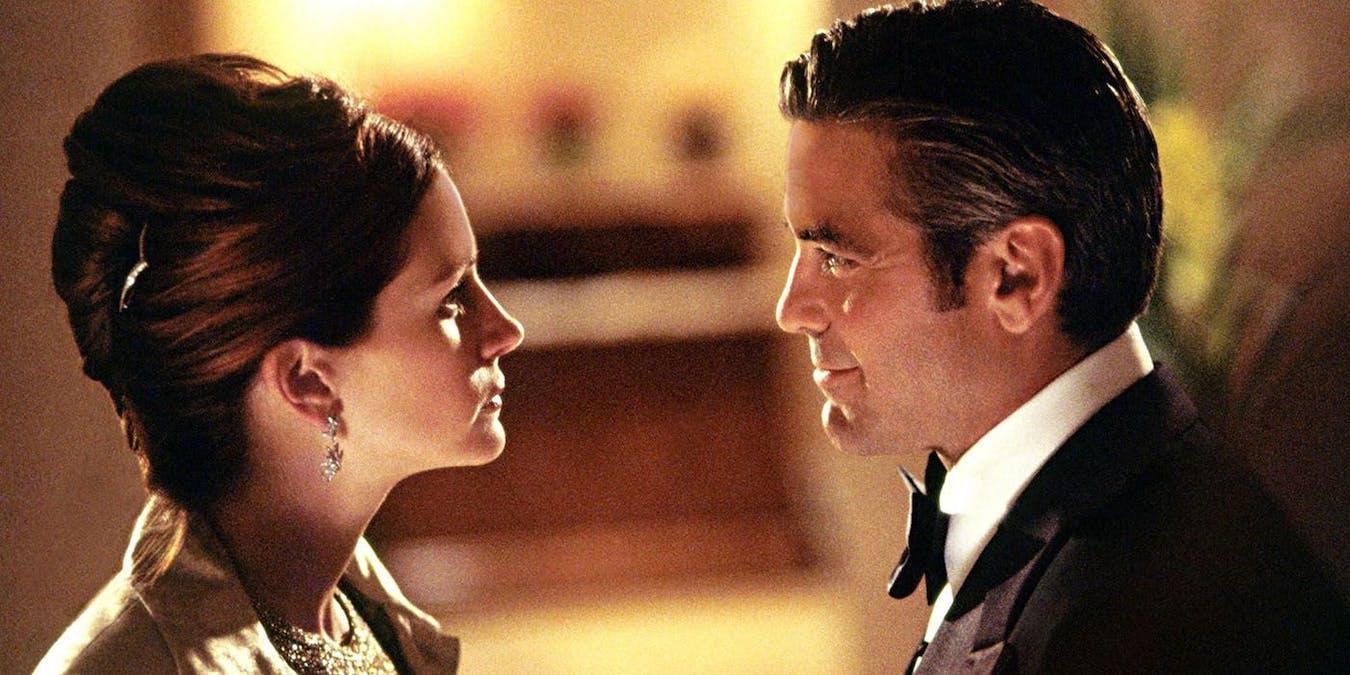 Julia Roberts och George Clooney spelar skilt par – då släpps filmen