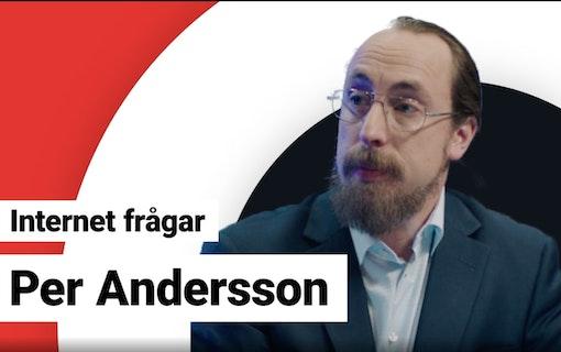 Internet frågar Per Andersson