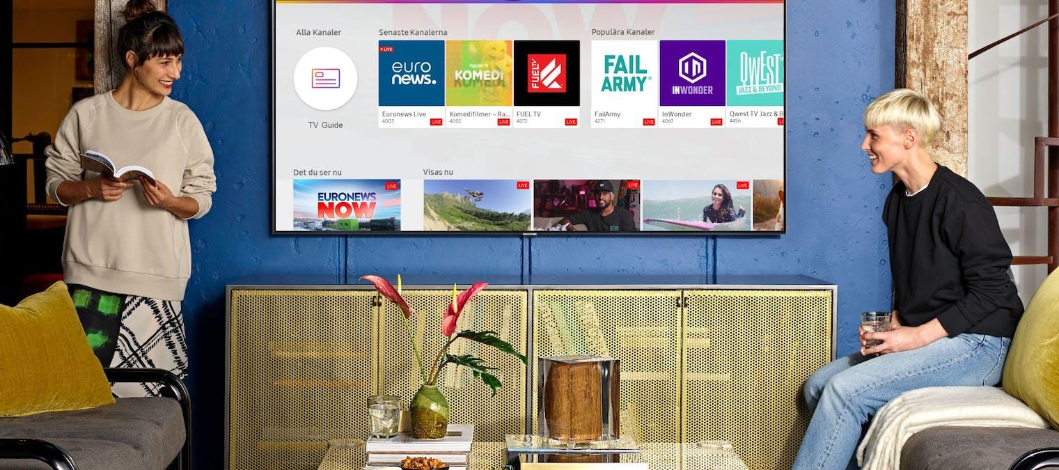 Samsung TV Plus Sverige – Pris, utbud, appen, senaste nytt