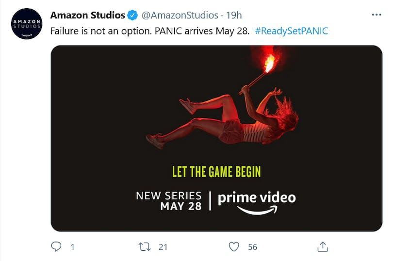 Panic kommer till Amazon Prime Video