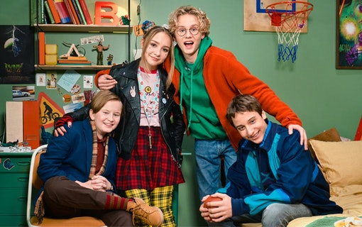 Adrian, Lily, Arvid och Samy om Nya Bert 2021