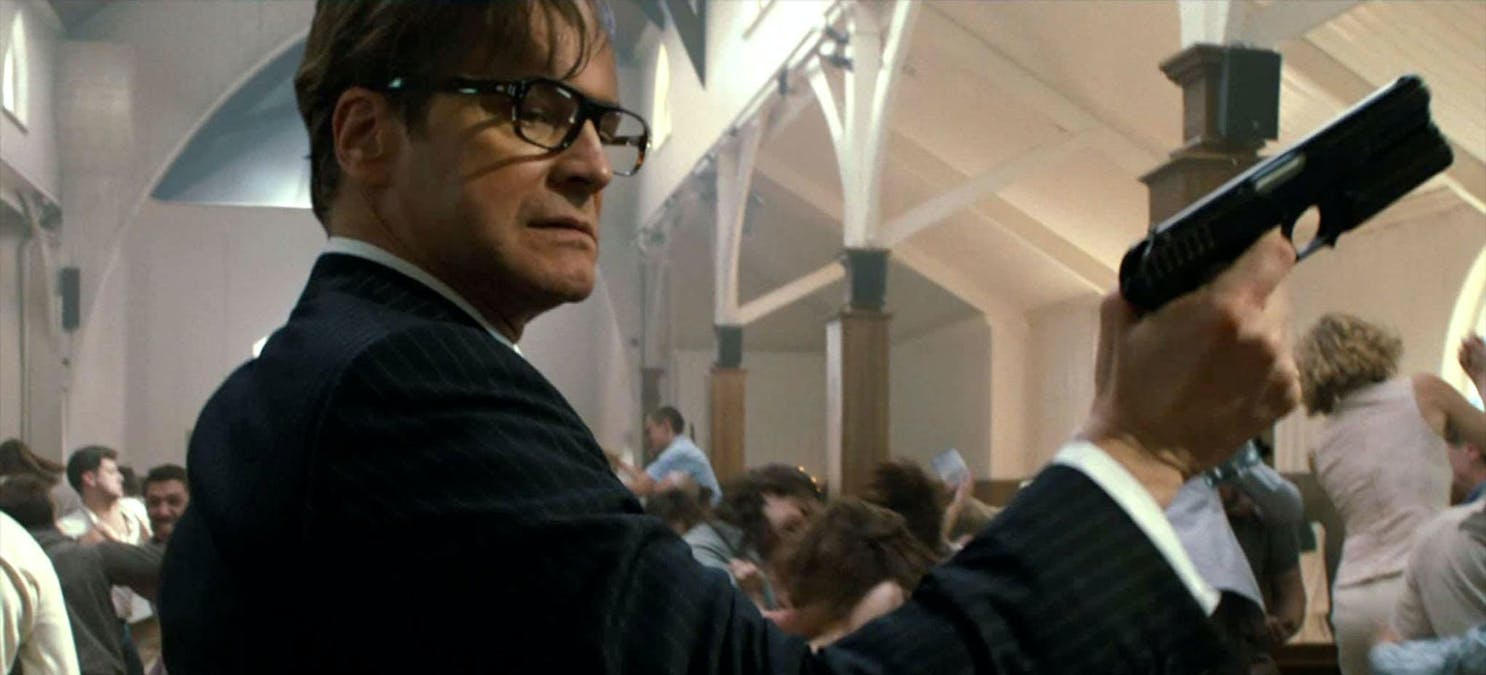 Colin Firth Kingsman