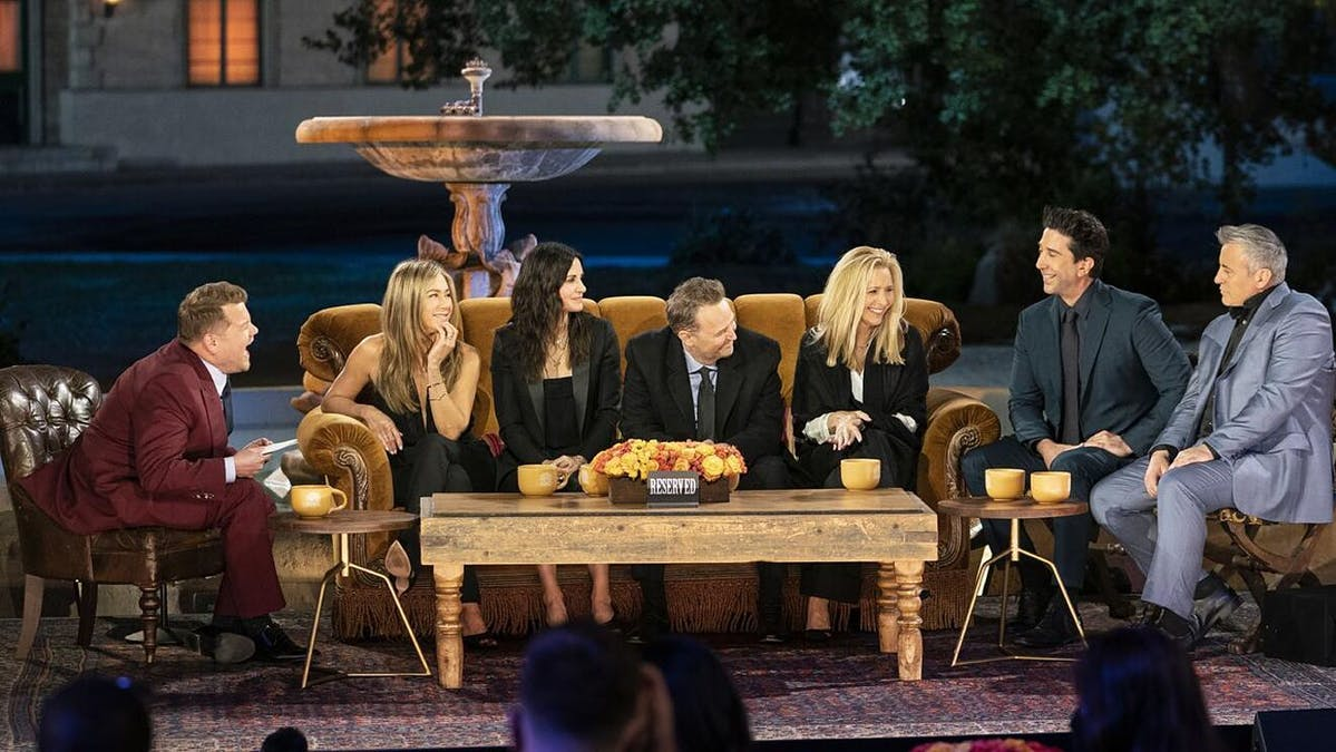 Friends The Reunion. Foto: HBO Max