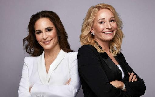 Alexandra Rapaport och Martina Haag