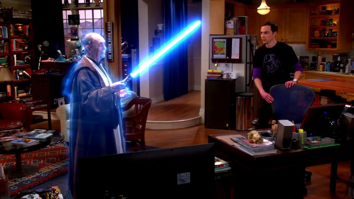 Bästa Star Wars referenserna i The Big Bang Theory