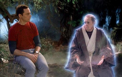 Bästa Star Wars referenserna i The Big Bang Theory